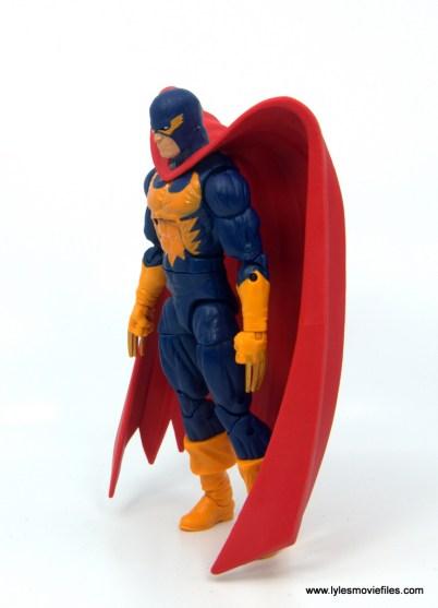 Marvel Legends Nighthawk figure review -left side