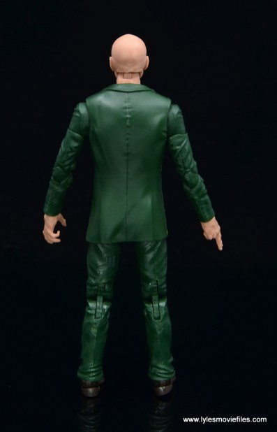 Marvel Legends Professor X figure review - rear
