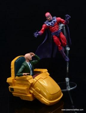 Marvel Legends Professor X figure review - vs magneto