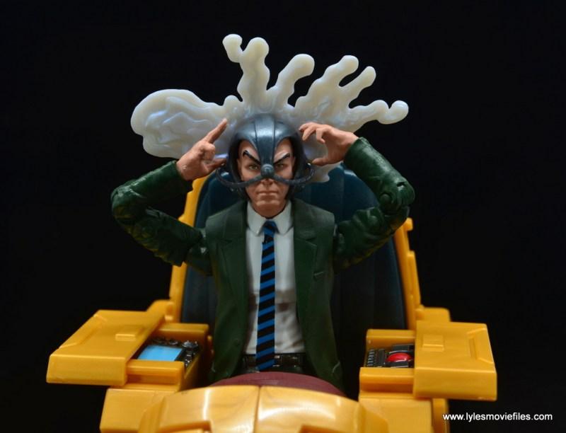 Marvel Legends Professor X figure review - with cerebro effect