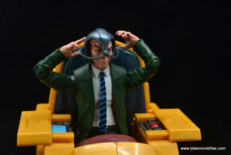 Marvel Legends Professor X figure review - with cerebro