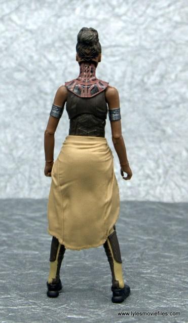 Marvel Legends Shuri figure - rear