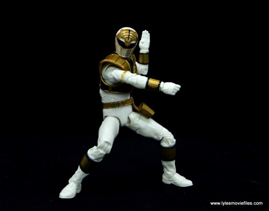 Power Rangers Lightning Collection White Ranger figure review - ready to strike
