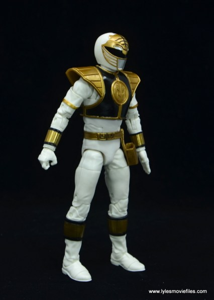 Power Rangers Lightning Collection White Ranger figure review - right side