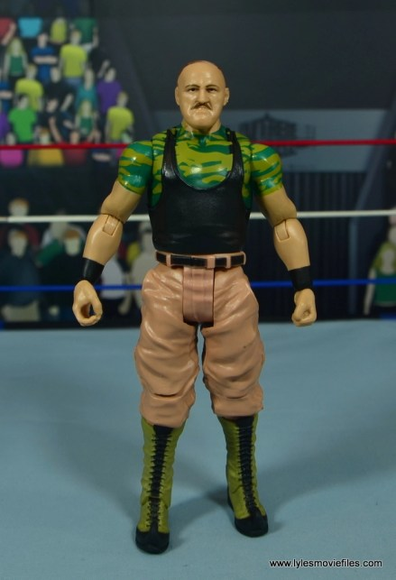 WWE Basic Sgt. Slaughter figure review - front