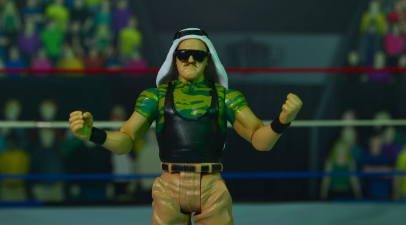 WWE Basic Sgt. Slaughter figure review - main pic