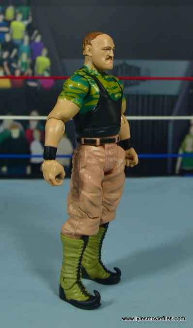 WWE Basic Sgt. Slaughter figure review -right side