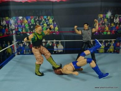WWE Basic Sgt. Slaughter figure review - stomping hacksaw jim duggan