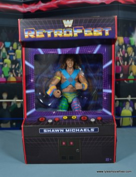 WWE RetroFest Shawn Michaels figure review - package front
