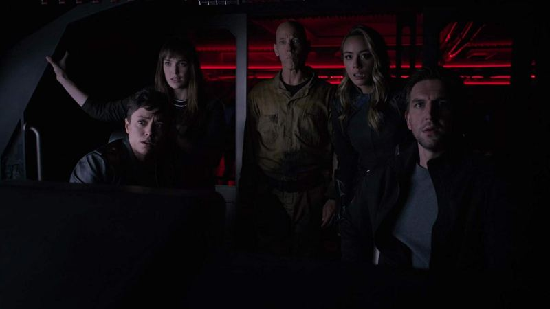 agents of shield the other thing review - piper, simmons, enoch, daisy and davis