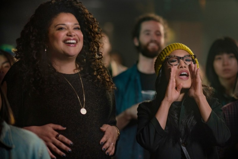 always be my maybe review - michelle buteau and ali wong