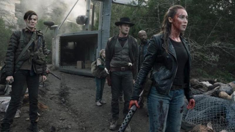 fear-the-walking-dead-season-5-here-to-help-review - althea, john, morgan and alicia