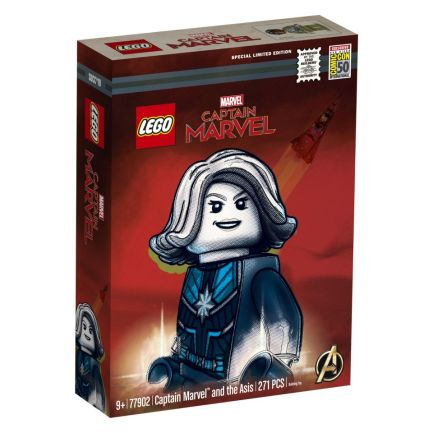 lego sdcc 2019 captain marvel exclusive set packaging