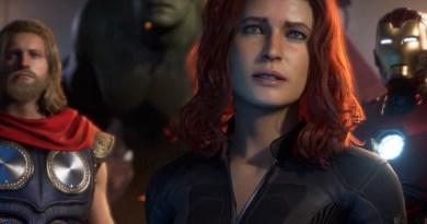 marvel's avengers - thor, hulk, black widow and iron man