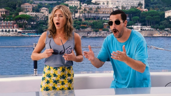 murder mystery review - jennifer aniston and adam sandler