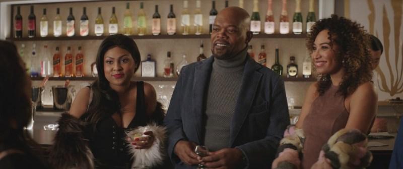 shaft 2019 movie review - tashiana washington, samuel l jackson and chivonne michelle
