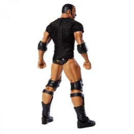 wwe elite 69 the rock wal-mart exclusive - rear