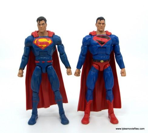 DC Multiverse Kingdom Come Superman figure review - with rebirth superman