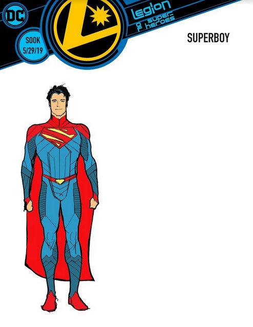 Legionnaire Character Designs - superboy
