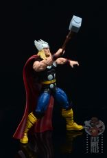 Marvel Legends 80th Thor figure review -about to fly