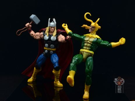 Marvel Legends 80th Thor figure review - chasing loki