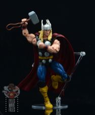 Marvel Legends 80th Thor figure review -landing