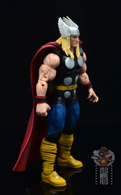 Marvel Legends 80th Thor figure review - right side