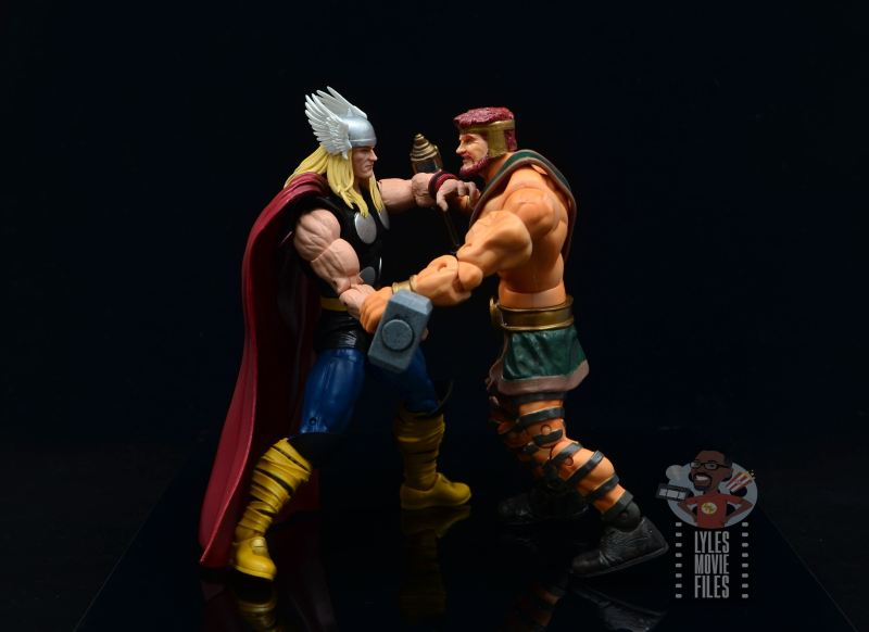 Marvel Legends 80th Thor figure review - vs hercules