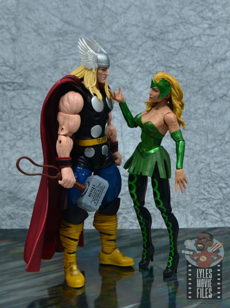 Marvel Legends 80th Thor figure review - with enchantress