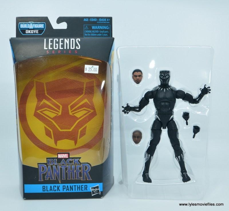 Marvel Legends Black Panther BAF Okoye figure review - accessories