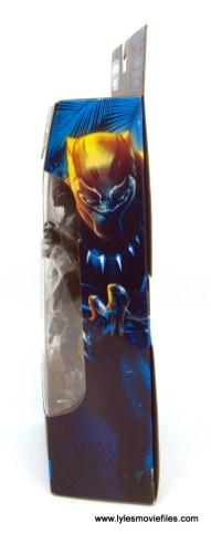 Marvel Legends Black Panther BAF Okoye figure review - package side