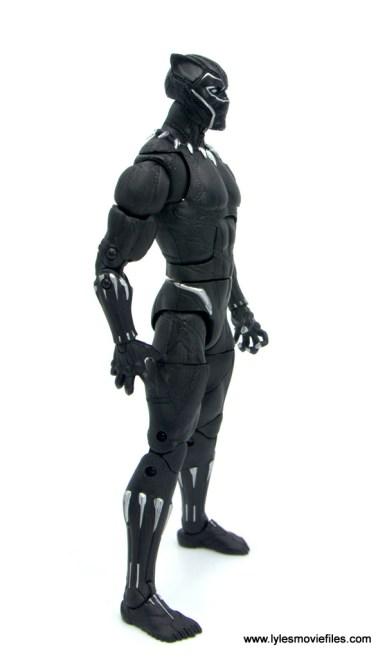 Marvel Legends Black Panther BAF Okoye figure review - right side