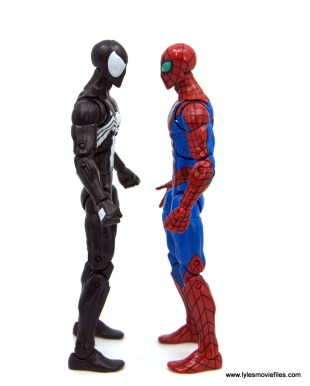 Marvel Legends Kraven and Spider-Man two-pack figure review - scale with new spider-man