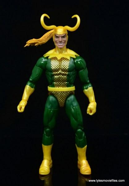 Marvel Legends Loki figure review - front