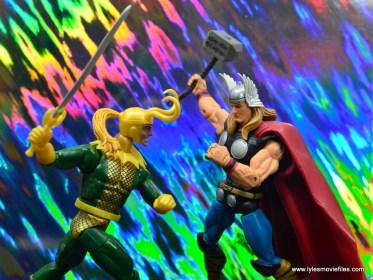 Marvel Legends Loki figure review - vs thor