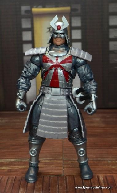 Marvel Legends Silver Samurai figure review - front