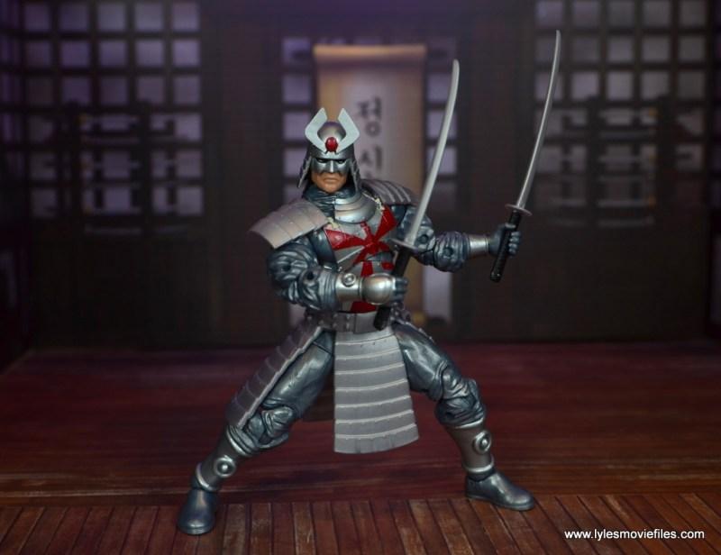 Marvel Legends Silver Samurai figure review - ready for battle