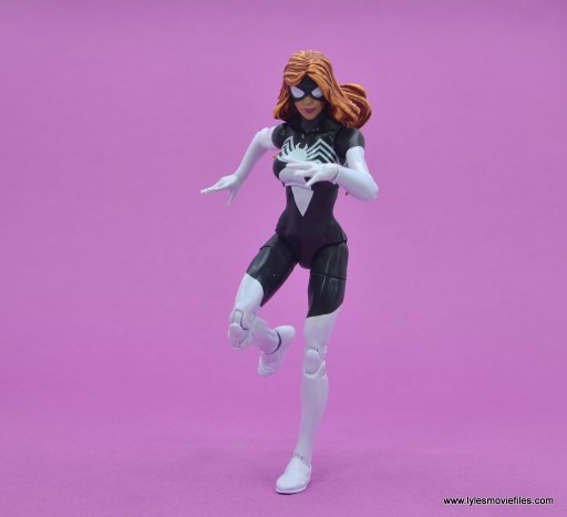 Marvel Legends Spider-Woman figure review - on the run