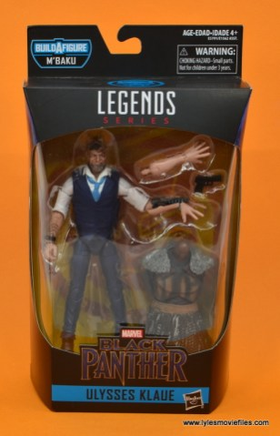 Marvel Legends Ulysses Klaue figure review - package front
