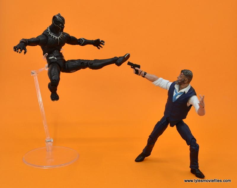 Marvel Legends Ulysses Klaue figure review - vs black panther