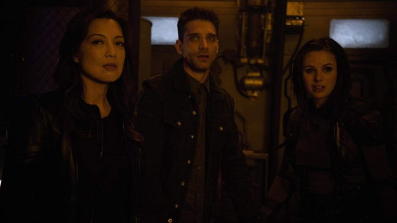 agents of shield collision course part 2 review - may, deke and snowflake