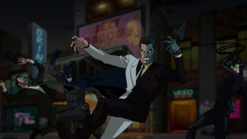 batman hush review -batman and catwoman vs two-face