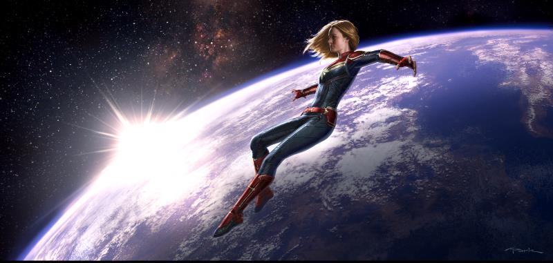 captain marvel leaving earth