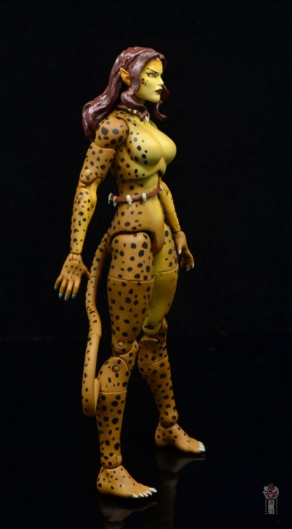 dc essentials cheetah figure review - right side