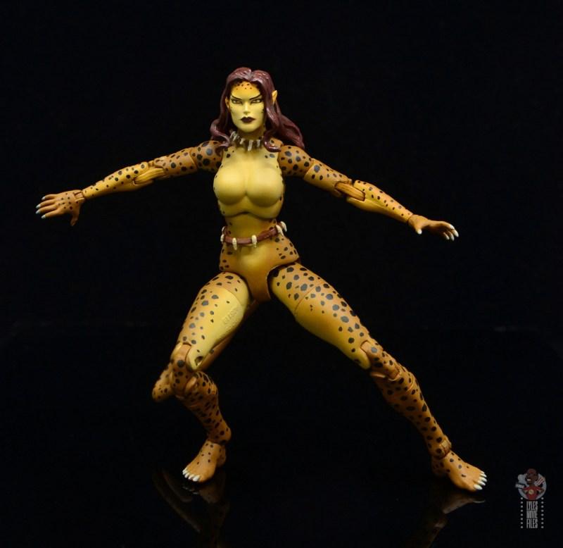 dc essentials cheetah figure review - spots detail