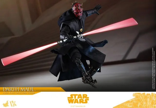 hot toys solo a star wars story darth maul figure - main pic