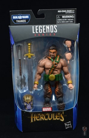 marvel legends hercules figure review - package front