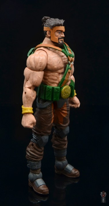 marvel legends hercules figure review - right side