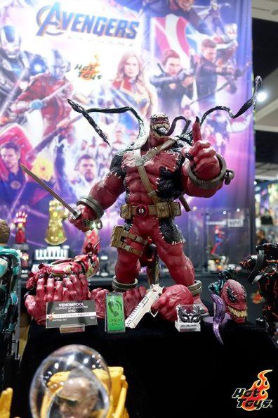 sdcc 2019 hot toys reveals - contest of champions venompool
