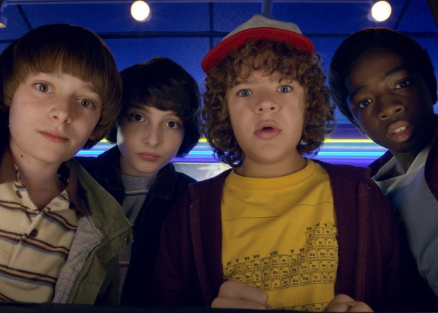 stranger things season 2 - will, mike, dustin and lucas